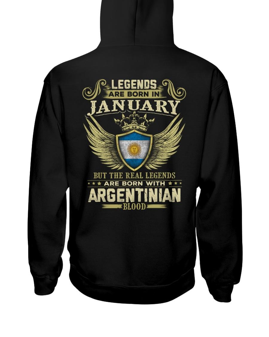 Blood Argentinian 01 Hooded Sweatshirt