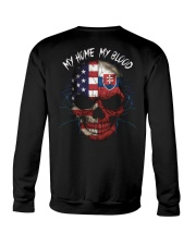 MY HOME - BLOOD Slovakia Crewneck Sweatshirt thumbnail