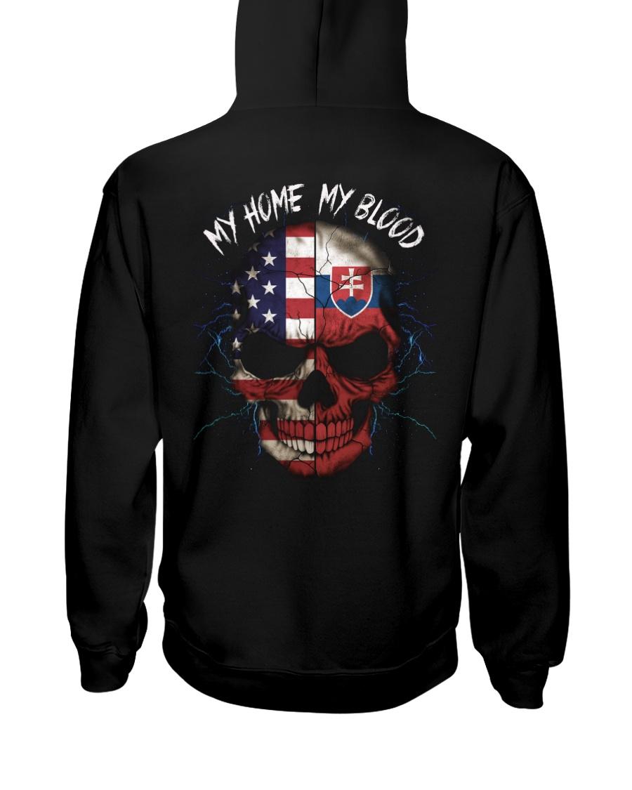 MY HOME - BLOOD Slovakia Hooded Sweatshirt