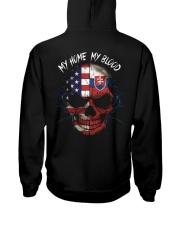 MY HOME - BLOOD Slovakia Hooded Sweatshirt back