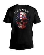 MY HOME - BLOOD Slovakia V-Neck T-Shirt thumbnail