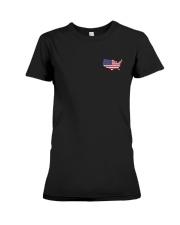 Map-AMERICA Premium Fit Ladies Tee thumbnail