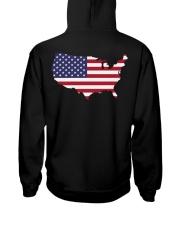 Map-AMERICA Hooded Sweatshirt back