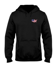 Map-AMERICA Hooded Sweatshirt front