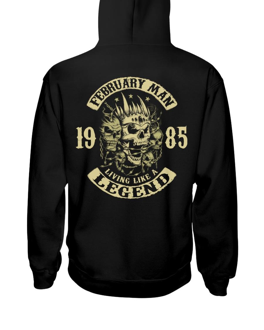 MAN 1985-2 Hooded Sweatshirt