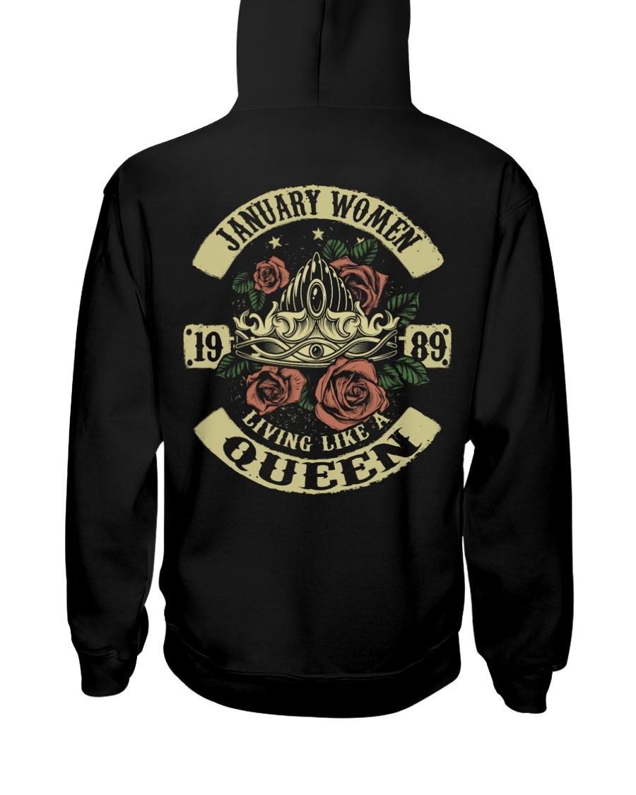 QUEEN 1989 - 01 Hooded Sweatshirt