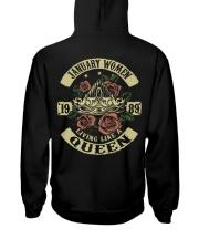 QUEEN 1989 - 01 Hooded Sweatshirt back