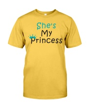 COUPLE- SHE IS MY PRINCESS Classic T-Shirt front