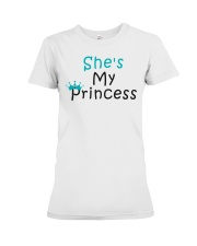 COUPLE- SHE IS MY PRINCESS Premium Fit Ladies Tee thumbnail
