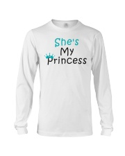 COUPLE- SHE IS MY PRINCESS Long Sleeve Tee thumbnail