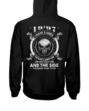 3 SIDE YEAR 97 Hooded Sweatshirt back