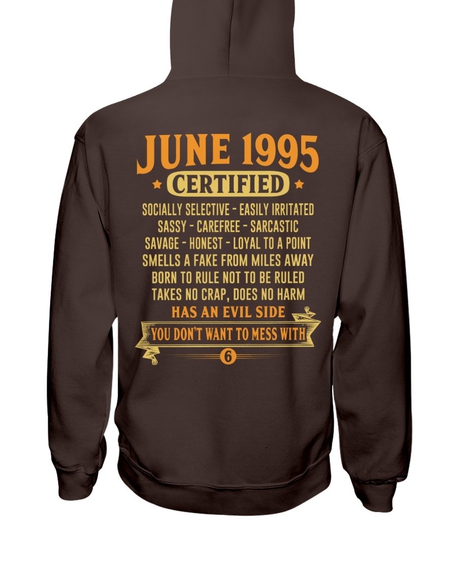 MESS WITH YEAR 95-6 Hooded Sweatshirt