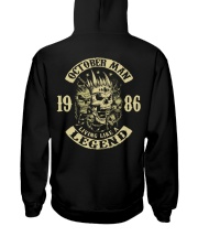 MAN 1986-10 Hooded Sweatshirt back