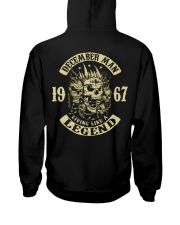 MAN 1967-12 Hooded Sweatshirt back