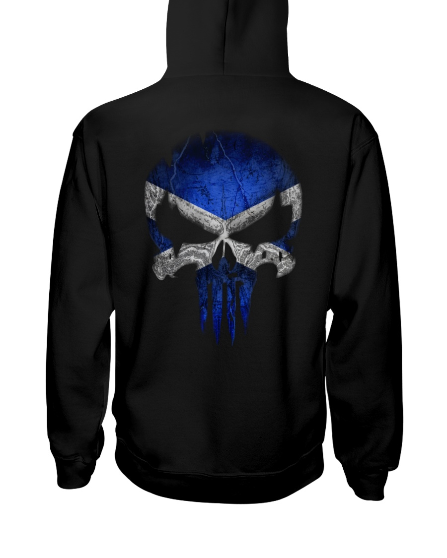 Skull Scotland Hooded Sweatshirt