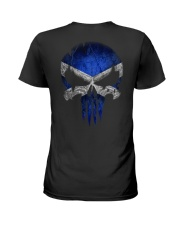 Skull Scotland Ladies T-Shirt thumbnail