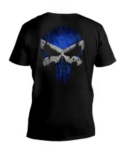 Skull Scotland V-Neck T-Shirt thumbnail