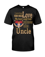 I Never Know- Uncle- Serbia Classic T-Shirt front