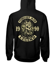 MAN 1990-2 Hooded Sweatshirt back