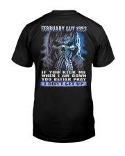 I DONT GET UP 93-2 Classic T-Shirt thumbnail