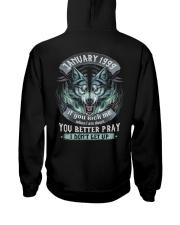 BETTER GUY 99-1 Hooded Sweatshirt back