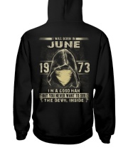 GOOD MAN 1973-6 Hooded Sweatshirt back