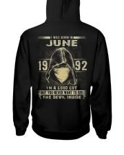 GOOD GUY 1992-6 Hooded Sweatshirt back