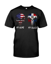 MY HOME SKULL dominican Classic T-Shirt front