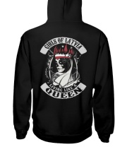 GIRLS OF Latvia Hooded Sweatshirt back
