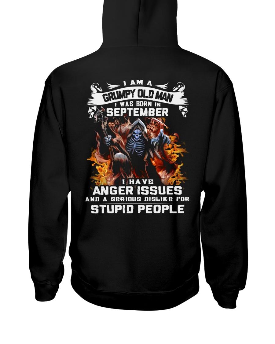 GRUMPY OLD MAN 9 Hooded Sweatshirt
