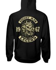 MAN 1967-8 Hooded Sweatshirt back