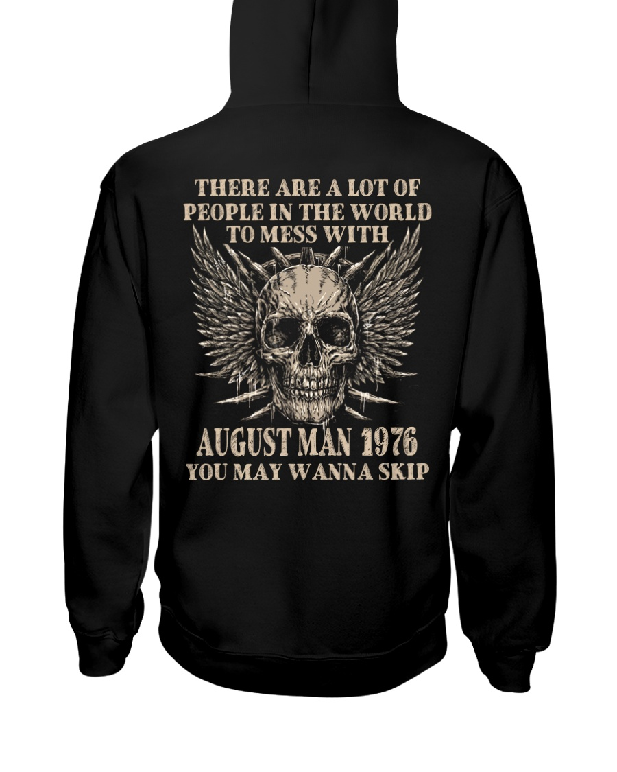 I AM A GUY 76-8 Hooded Sweatshirt