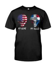 Dominican Republic Classic T-Shirt front