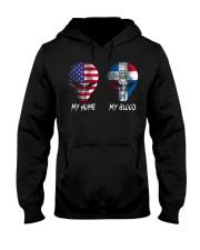 Dominican Republic Hooded Sweatshirt thumbnail