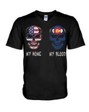 My Home America - Colorado V-Neck T-Shirt thumbnail
