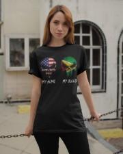 MY HOME SKULL Guyana Classic T-Shirt apparel-classic-tshirt-lifestyle-19