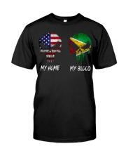 MY HOME SKULL Guyana Classic T-Shirt front