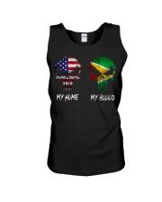 MY HOME SKULL Guyana Unisex Tank thumbnail
