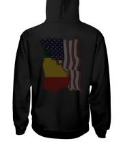 Ethiopia Hooded Sweatshirt back