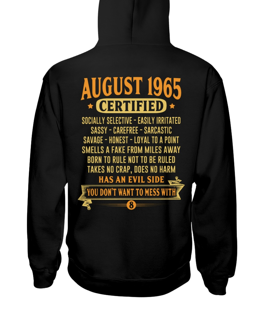 MESS WITH YEAR 65-8 Hooded Sweatshirt