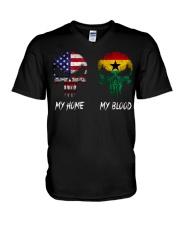 SKULL Ghana V-Neck T-Shirt thumbnail
