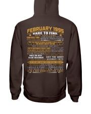 YEAR GREAT 95-2 Hooded Sweatshirt back