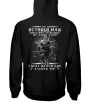 THE MAN 10 Hooded Sweatshirt back
