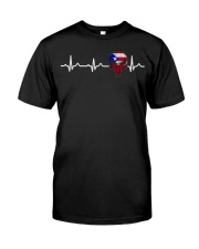 Love Puerto Rico Classic T-Shirt front