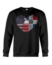 MY HEART Dominican Crewneck Sweatshirt thumbnail
