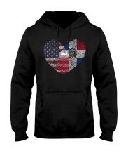 MY HEART Dominican Hooded Sweatshirt thumbnail