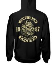 MAN 1987-6 Hooded Sweatshirt back