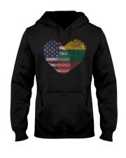 MY HEART Lithuania Hooded Sweatshirt thumbnail