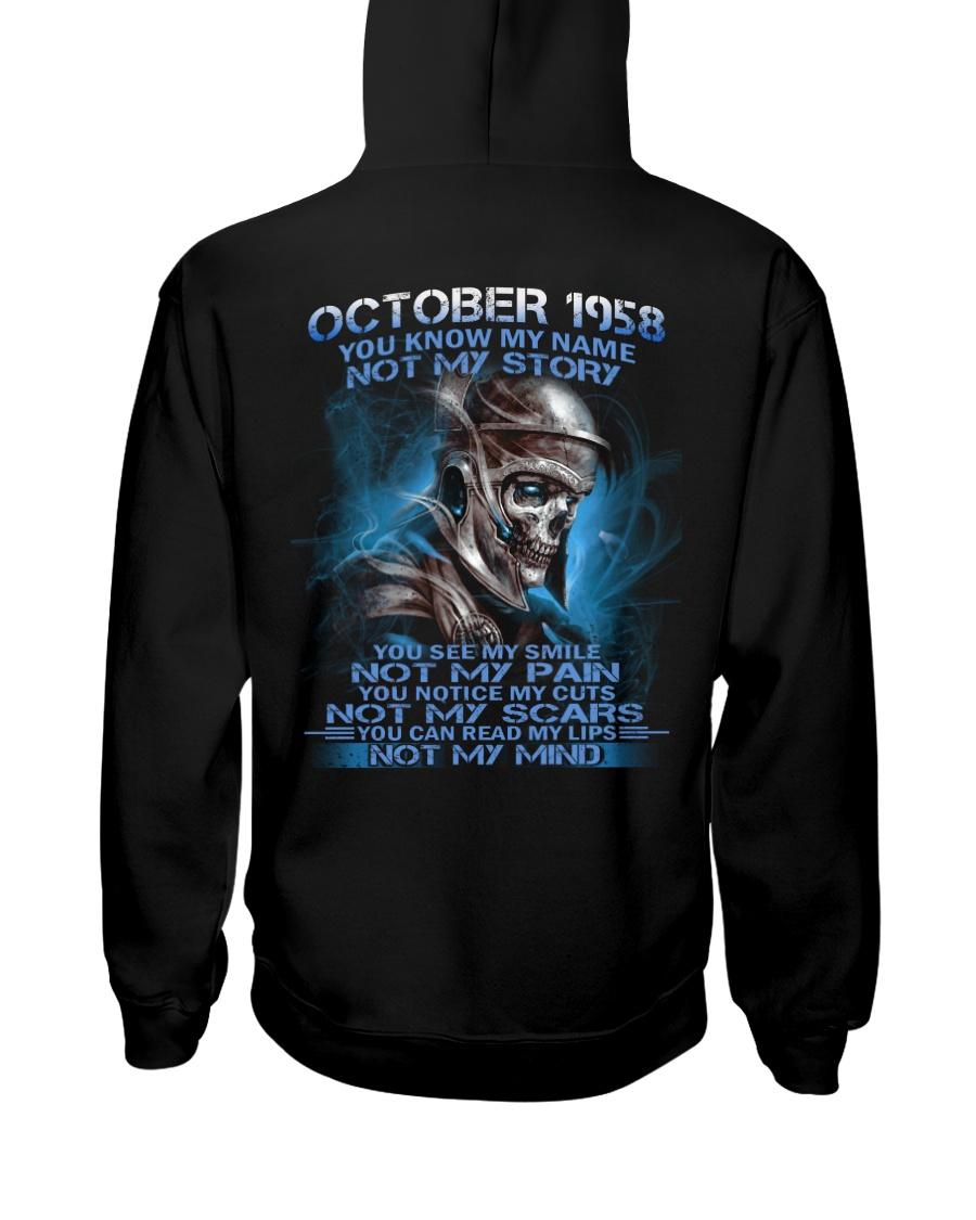 NOT MY 58-10 Hooded Sweatshirt