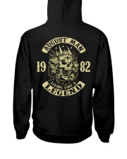 MAN 1982- 8 Hooded Sweatshirt back
